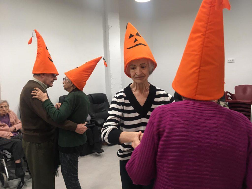 halloween en Centro de Día para Mayores Abastos