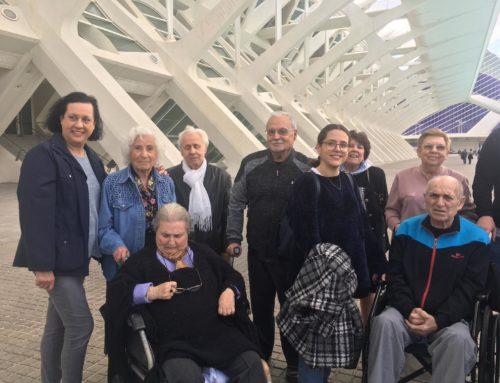 Visita el 13 marzo de 2019 al museo del Ninot en la Ciudad de las Artes y las Ciencias